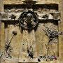 11 Jesus wird an das Kreuz genagelt