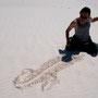 スチール撮影「生」  @ アメリカ・ホワイトサンズ国定公園 / REIBU【禮生】