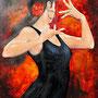Emoción de Carmen (2010) Öl & Acryl 100 x 80 cm