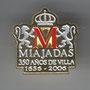 MIAJADAS 350 ANIVERSARIO