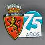 REAL ZARAGOZA 75 ANIVERSARIO