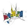 Serie Luzern: Hofkirche mit Rebstock