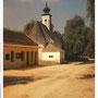 Milchhaus mit Kirche vor 1972