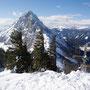 Gipfel Karleck mit Bosruck im Hintergrund.