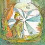 02/13/ ☆『 羽ばたく者 』 ---使用*マルチライナー茶0.05、透明水彩