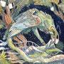 12/12/ ☆『 夢竜 』 ---使用*ORAWING PEN0.05、透明水彩、白ペン