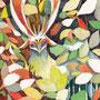 06/18/ ☆『 かくれんぼ 』 ---使用:マルチライナー赤0.05、シャーペン、透明水彩