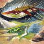 10/15『 浮鯨 』記録の断片_空を漂い生きるもの。あるがままに成すがままに息を紡ぎ、唄をうたう。ゆらゆらゆらり、またいつか。