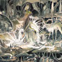 03/03/ 『 創世紀第一章 』 ---使用:STAEDTLER pigment liner0.05、透明水彩、珈琲、白ペン