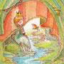02/11/ ☆『 ひとり舞台はもう終わり 』 ---使用*マルチライナー茶0.05、透明水彩