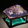 Liquid prism/2016/偏光フィルム・アクリル・木材/H10×W15×D15cm