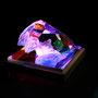 Solid prism/2016/偏光フィルム・アクリル・木材/H6×W10×D6cm