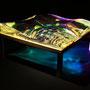 Liqiud prism/2016/偏光フィルム・アクリル・木材/H10×W30×D30cm