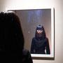 Dispersion of light/ 2016/ 偏光フィルム・・アクリル・鏡 / H70×W70×D5cm