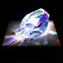 Liqiud prism/2015/偏光フィルム・アクリル・木材/H5×W5×D7cm