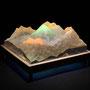 Solid prism/2014/偏光フィルム・アクリル・木材/H8×W12×D12cm