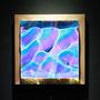 Liquid prism / 2015/ 偏光フィルム・アクリル・木材 / H17×W17×D4cm