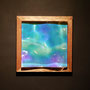Liquid prism / 2016/ 偏光フィルム・アクリル・木材 / H17×W17×D4cm