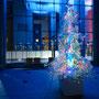 Prismatic the tree/2015/H300×W200×D200cm/中目黒GT「GT 光のページェント」クリスマスツリー/撮影:野口浩史