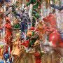 上野東照宮・神楽殿 光彩陸離/2016/偏光フィルム・フィギュア・アクリルケース/H70×W70×D10cm