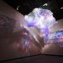 Prismatic glitter/2016/偏光フィルム・塩ビ板・LEDライト/H300×W250×D60cm