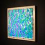 Liquid prism / 2015/ 偏光フィルム・アクリル・木材 / H32×W32×D5cm