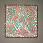 Prismatic cosmos / 2013 / 偏光フィルム・アクリル板・ガラススフィア / H20×W20×D5cm