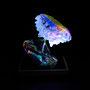 Solid prism/2015/偏光フィルム・アクリル・木材/H12×W13×D8cm