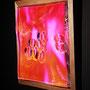 Liquid prism / 2017/ 偏光フィルム・アクリル・木材 / H35×W35×D5cm