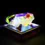 Solid prism/2015/偏光フィルム・アクリル・木材/H10×W10×D6cm