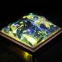 Liquid prism/2016/偏光フィルム・アクリル・木材/H10×W10×D5cm