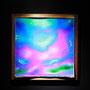 Liquid prism / 2017/ 偏光フィルム・アクリル・木材 / H55×W55×D5cm