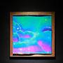 Liquid prism / 2017/ 特殊フィルム・アクリル・木材 / H34×W34×D4cm