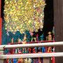 上野東照宮・光彩陸離展/2016/偏光フィルム・アクリル・フィギュア・木材/H230×W370×D366cm
