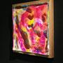 Liquid prism / 2016/ 偏光フィルム・アクリル・木材 / H32×W32×D5cm