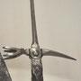 Marteau de Lucerne - travail Suisse 1480 - Musée des Invalides - Paris