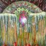 Beate und das Licht, 110x90 cm