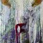 Frau Blut, 50x40 cm