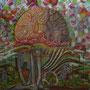Pforten der Wahrnehmung, 150x180 cm,