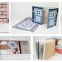 """Künstlerbuch """"Frau Holle"""", Semesterarbeit Illustrative Grafik 2010 (2012 in den Bestand der Staatsbibliothek zu Berlin aufgenommen)"""