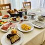 Frühstücksauswahl Gasthof Krall