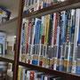 国立図書館の外国語図書コーナー。外国語図書の大半は中国語の図書だ=平壌市内、2018年6月2日