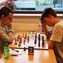 18. Mai 2018 - 6. Runde: Kaloyan Popvasilev gegen Maximilian Wurst - Foto © Wofgang Wilke
