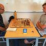 08. Juni 2018 - 7. Runde: Erich Müller gegen Alexander Lossner - Foto © Wofgang Wilke