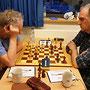 18. Mai 2018 - 6. Runde: Manfred Bley gegen Matthias Thanisch - Foto © Wofgang Wilke