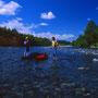 自然のままの姿の川は、豊かな国土を維持し、豊かな生態系を守り、豊かな経験を与えてくれる。ダムのない非常に貴重な川。今後も絶対に人が手を入れてはならない、希少の存在である。<歴舟川>