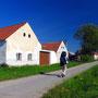 チェコの田舎はある意味、とてもヨーロッパらしい風景だ。平坦で、美しく、だが退屈。<チェスケ・ブジェヨヴィツェ周辺――チェコ>