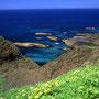 声を上げるほどの海の色。自然の作り上げる色彩は、いつも僕を感動させてくれる。これほどの海が日本にあることを、どれだけの日本人が知っているだろう。<トド島>
