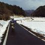 冬の旅は物寂しい気持ちになる。ほかの旅人とは誰一人会わない。                                  たった一人で、この広大な日本を旅していく。                                         京都