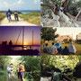 南のゆったりと流れていく時間の中で出会った旅人達は、北海道で出会う旅人以上に個性の強い連中だった。           パッションフルーツ狩り、ジャングル縦断、クルーザーで寝泊り、都会の公園キャンプ。                     移動する範囲は狭くても、強烈に記憶に残る時間がそこにはあった。             波照間島、西表島、石垣島、沖縄本島